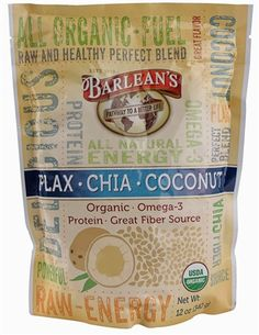 A Must-Have!!! Barlean's Flax - Chia - Coconut Superfood Blend