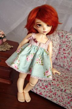 Fairyland Littlefee  Yosd dress by Choupicouture on Etsy