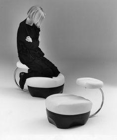 Primate Chair, 1970 design byAchille Castiglioni