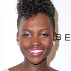 Lupita embraces full on color. See more celebrity beauty, here.