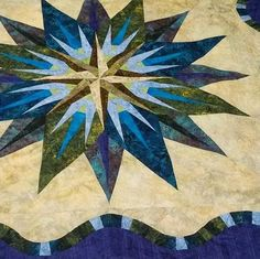 Vintage Compass, Quiltworx.com, Made by Quiltessential Quilts