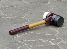One of our many cool hammers. Check them all:  http://www.pavetech.com/tools/tumbler.htm