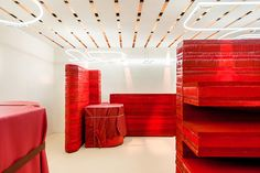 Studio Toogood's shop design for Hermès
