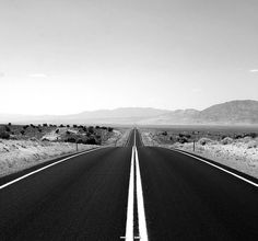 empty road pathway direction lost boack and white b&w aesthetic heartbroken break up straight line