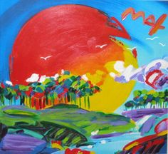 """Peter Max """"Retro VI Without Borders"""""""