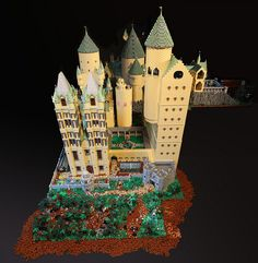 Ravenclaw and Astronomy towers by Bippity Bricks, via Flickr