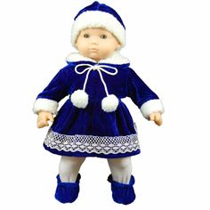 Rebrons Be brave baby doll nightgown Fits 15 dolls such as Bitty baby