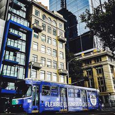 Right on track @allyshawebber : #Melbourne #Tram #Australia #Deakin #University