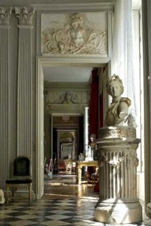 "Paris apartment originally for le Duc des Gesvres. Jean Le Pautre, 1652. World of Interiors, October 2005 ""Mirrored Glass"""