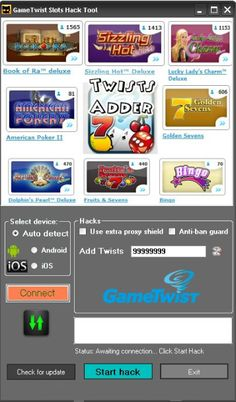 GameTwist Slots Hack Tool Unlimited Twists for all games