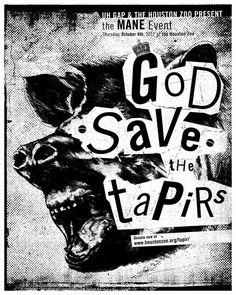 UHGAP & Houston Zoo, Brazilian Tapir - Tom So