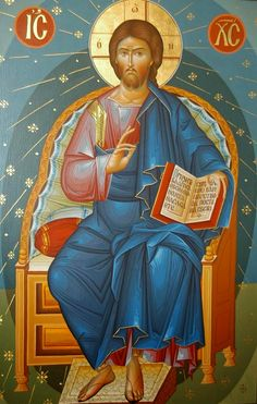 Christ is risen! Jesus Christ, the Son of God, the Savior of the World ( source ) The Jesus Prayer is a work . Jesus Prayer, Jesus Is Lord, Religious Icons, Religious Art, Roman Church, Images Of Christ, Christ Is Risen, Biblical Art, Byzantine Icons