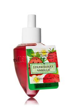 Strawberry Vanilla Wallflowers Fragrance Refill - Home Fragrance 1037181 - Bath & Body Works