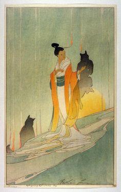 The Fox-Woman - Bertha Lum | FAMSF Explore the Art