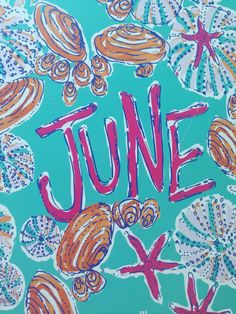 my favorite month (Image: Lilly Pulitzer) Summer Is Here, Summer Fun, Summer Time, Summer Breeze, Lilly Pulitzer Prints, Lily Pulitzer, Chaussures Roger Vivier, New Month Wishes, June Gemini