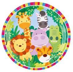 Platos decorados para fiesta temática de la jungla  #fiestadelaselva #fiestadesafari #fiestastematicas #animales #globosdeanimales #globocaballo #globojirafa #globopez #animalparty #safariparty #zooparty #ideasfiesta #fiestainfantil #globosfiesta #balloons #globopanda #pandaballoon #cumpleaños #cumpleañosinfantil #niños