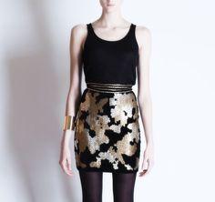 Michel Klein Sequined skirt #luxury #modewalk sequin skirt