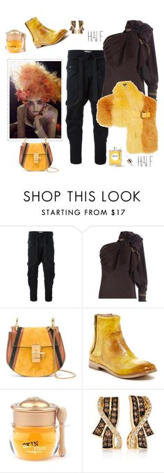 """""""Half&Half"""" by juliabachmann ❤ liked on Polyvore featuring Faith Connexion, Philosophy di Lorenzo Serafini, Fendi, Chloé, Bed
