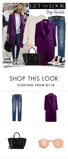 """""""No 244:Get the Look: Cool Coats-Gigi Hadid"""" by lovepastel ❤ liked on Polyvore featuring Rebecca Minkoff, Sandro, Prada, J.Crew, Rodarte and coolcoat"""