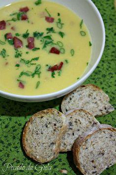 Pecado da Gula - sopa cremosa de milho