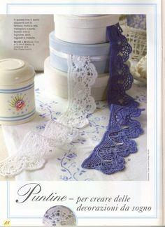 Achei lindos estes barradinhos em crochê, principalmente este primeiro...
