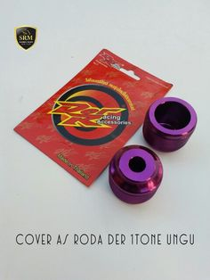 Cover as roda DER 1Tone Ungu IDR 140.000,-/Set