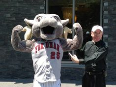 Father McShane and the Ram outside Campbell Hall  http://www.payscale.com/research/US/School=Fordham_University/Salary