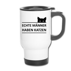 Neutral, Shop Ideas, Travel Mug, Cat, Mugs, Tableware, Cat T Shirt, Real Men, Kaffee