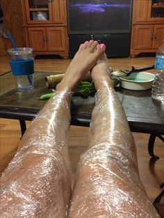 Loose weight easy! Mix farewell cellulite cream with vitamin e oil rub it on the spots where you want to loose weight then wrap them tight in ceran wrap. Sit in blankets for an hour then drink lots of water after