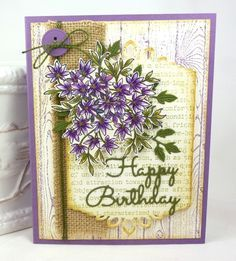 Stampin' Up! Awesomely Artistic, Awesomely Plum by BeckyTE - Cards and Paper Crafts at Splitcoaststampers