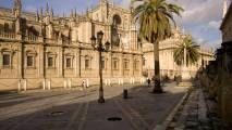Seville, Spain. Had the BEST tour here from two sisters from South Africa. They showed us all the best Tapas places and took us to see an amazing Flamenco dancer in a tiny hidden bar off an alleyway.