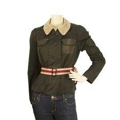 Paul Ka Black Long sleeve short jacket fabric belted top - Sz 38