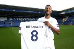 Photos: Leicester City complete signing of Nigerian striker, Kelechi Iheanacho from Manchester City Manchester City, Manchester United Fans, Leicester City Football, Leicester City Fc, Community Shield, Best Player, 20 Years Old, Fashion Outlet, Premier League