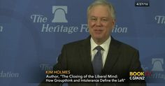 Heritage Foundation fellow Kim Holmes talks about his book, [The Closing of the Liberal Mind: How Groupthink and Intolerance Define the Left], in which he examines the state of liberalism in America.…