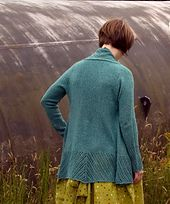 Clairette Cardigan by Megan Goodacre  Love the simple but elegant lace details, must knit this someday