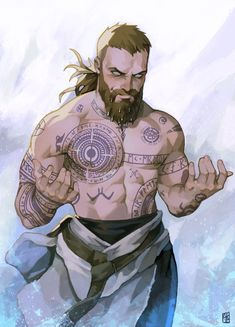 Baldur was a god in Norse Pantheon. He was son of Odin the Allfather and Frigg the Queen of Asgard. Being the son of the King and the Queen of Asgard, Baldur was obviously the Prince of Asgard. Viking Character, Character Concept, Character Art, Character Design, Kratos God Of War, Thor, Loki, Dnd Characters, Fantasy Characters