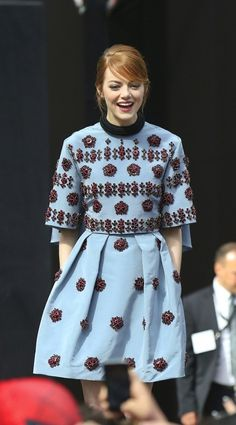 "Emma Stone At ""The Amazing Spider-Man 2"" Premiere"