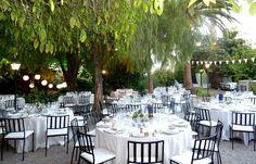 Mesas jardín