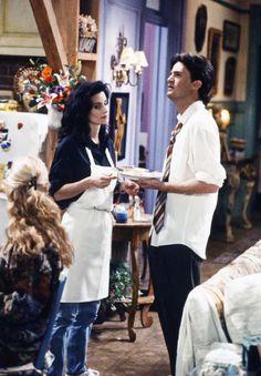 FRIENDS Monica and Chandler