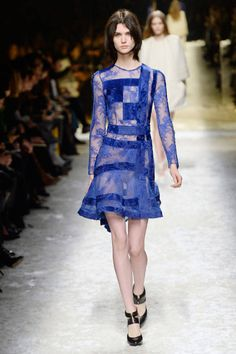 The Sexiest Dresses of Milan Fashion Week - Designer Dresses Milan Fashion Week Fall 2014 - Elle
