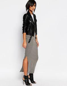Image 1 ofVero Moda Stripe Tube Skirt