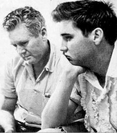 They were bought even closer due to Gladys death. This photo of Elvis at Graceland was taken a few hours after his mother had died at Methodist Hospital in Memphis, TN, in the morning hours of August 14, 1958.