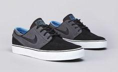 Nike SB Stefan Janoski Black/Anthracite/Distinct Blue