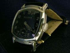 large, chunky, vintage watches - just for fun!