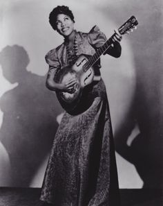Sister Rosetta Tharpe. One of Gospel music's first cross over stars. With hits like 'Down by the Riverside' , 'Strange Things Happen Every Day' and a Gospel styled country cover  of 'The Lonesome Road'. Sister Rosetta would take her music to nightclub and centre stage working with both Jazz combo's and Big Band. While it is as the Godmother of Rock & Roll that she may be best known to some, it is her parallel career as Gospel innovator that she is best remembered.