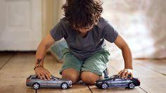 Mercedes-Benz TV: The uncrashable Toy Cars.