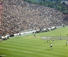 West Germany 4 Uruguay 0 in 1966 at Hillsborough. Helmut Haller scores to make it in the World Cup Quarter Final. 1966 World Cup Final, Bristol Rovers, Soccer Photography, Sheffield Wednesday, Finals, How To Memorize Things, Germany, England, Football