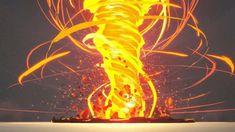 Magic Drawing, Fire Drawing, Explosion Drawing, Magia Elemental, Fire Tornado, Fire Powers, Digital Art Tutorial, Magic Art, Fantasy Character Design