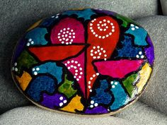 Enchanted/+Painted+Rock+/+Sandi+Pike+Foundas+/+by+LoveFromCapeCod,+$48.00