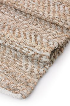 Jute And Leather Rug - Rugs & Flooring - French Connection